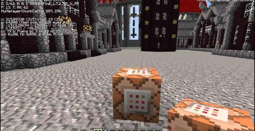 Minecraft Komut Bloğu Nasıl Kullanılır