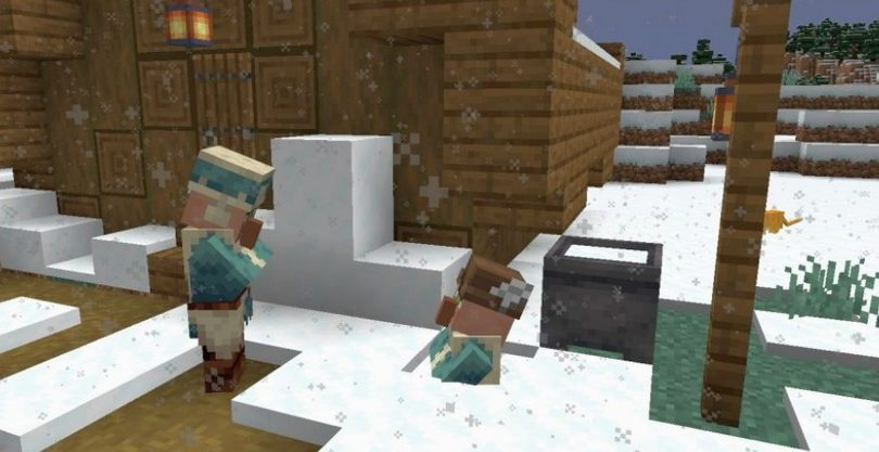 Minecraft Kar Yağdırma Komutu